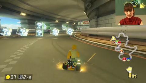 『マリオカート8 デラックス』体験ステージ