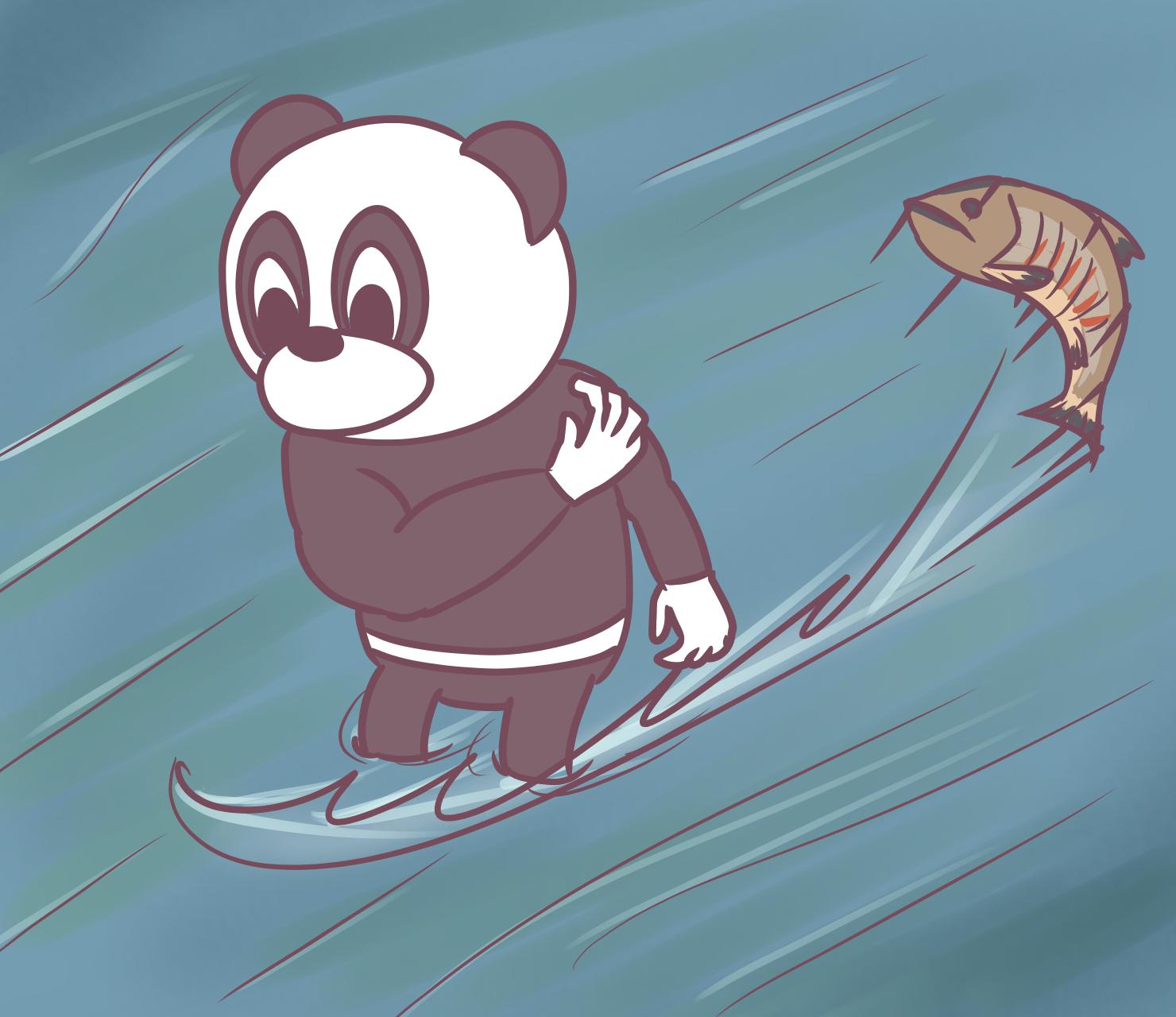 20170121タトゥーパンダと鮭