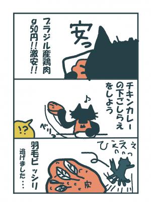 nisa411鶏肉に羽