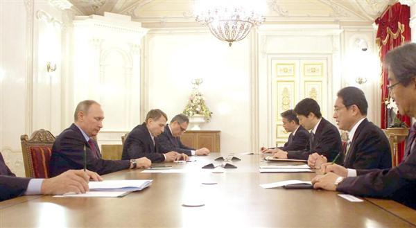 北方領土の領有容認を要求 平和条約交渉の前提とロシア
