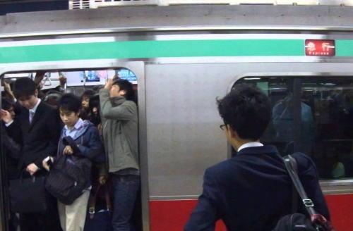 東急・田園都市線 通勤ラッシュ 溝の口駅 一極集中