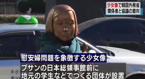 慰安婦像 釜山 最終的且つ不可逆的な解決 ウイーン条約 総領事 挺対協