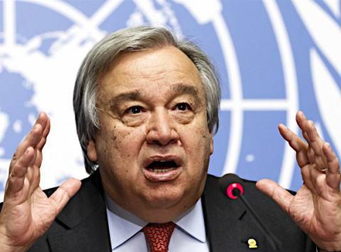 アントニオ・グテレス 国連事務総長 ポルトガル UN 国連 国際連合