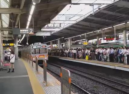 東急 田園都市線 通勤ラッシュ 溝の口駅 一極集中