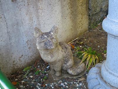 20170101 狐の石像3