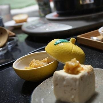 豆腐柚子みそ