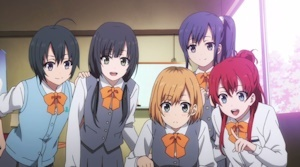 高校生時代の5人娘