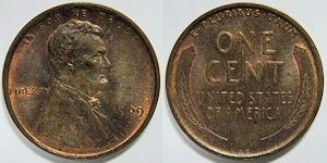 小麦1セント硬貨
