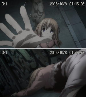 刺された乃々
