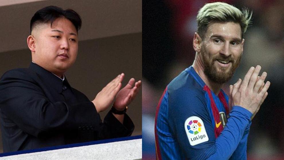 Kim Jong-un promete fabricar jugadores con más talento que Messi
