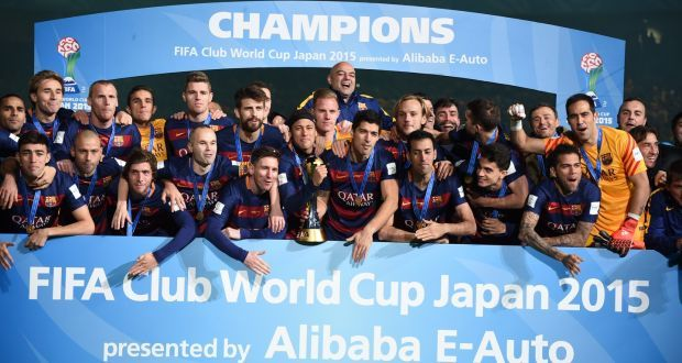 Barcelona are the current Club World Cup champions