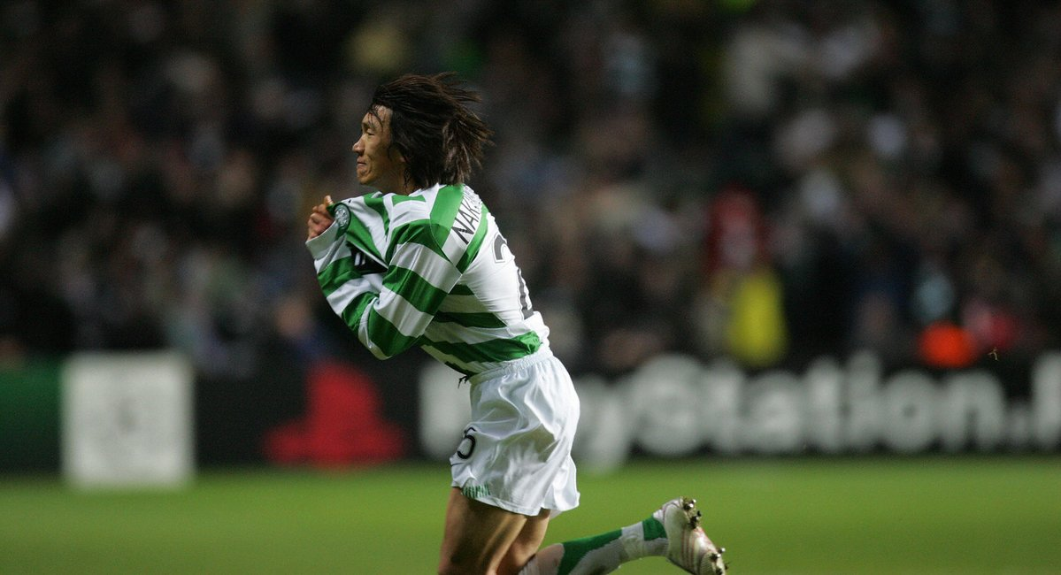 OnThisDay in 2006, a Shunsuke Nakamura free-kick gave Celtic a 1-0 win against Manchester United
