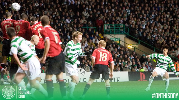 OnThisDay ten years ago This happened! 🎯 #UCL nakamura goal
