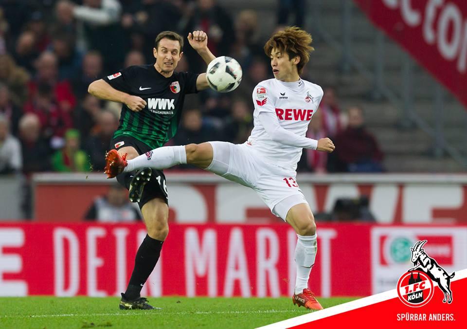 osako koln 0-0 Augsburg