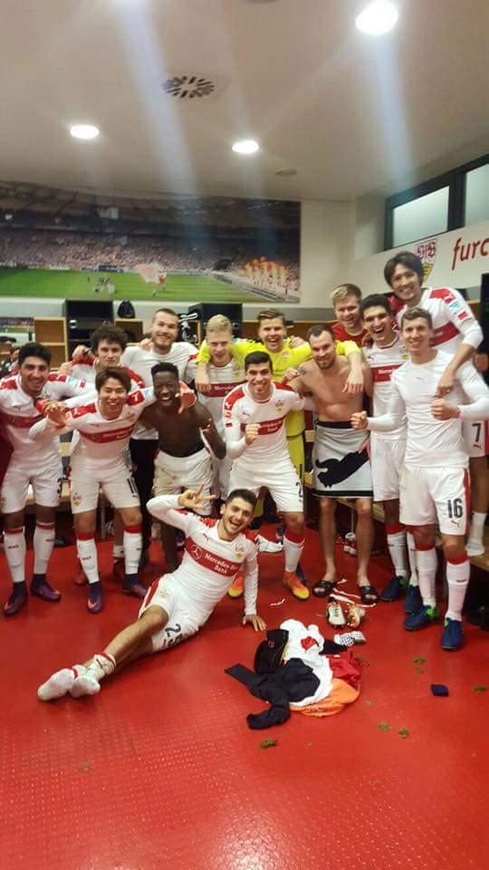 VfB Stuttgart gewinnt verdient mit 3_1 gegen FC Nürnberg 2xTORodde und Asano machen die Tore