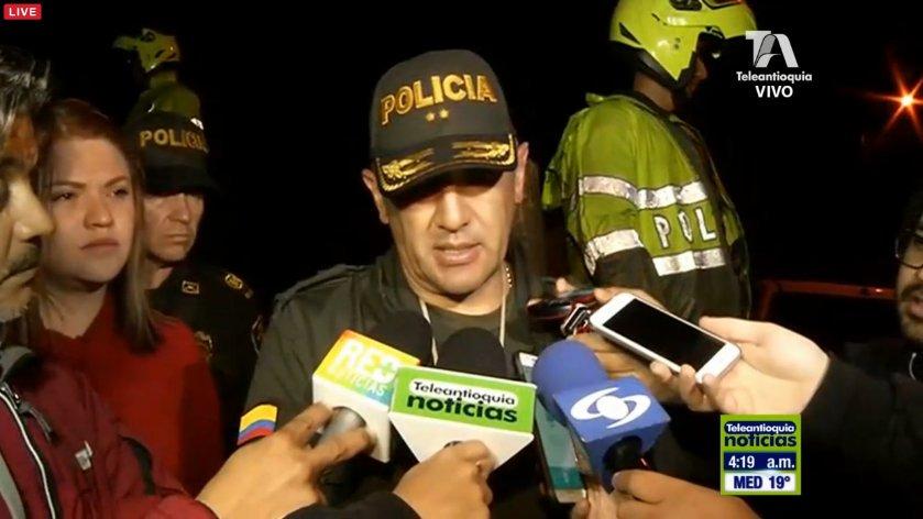 """Se pudieron rescatar cinco personas con vida, el resto de la tripulación falleció"""", según el general José Gerardo Acevedo"""