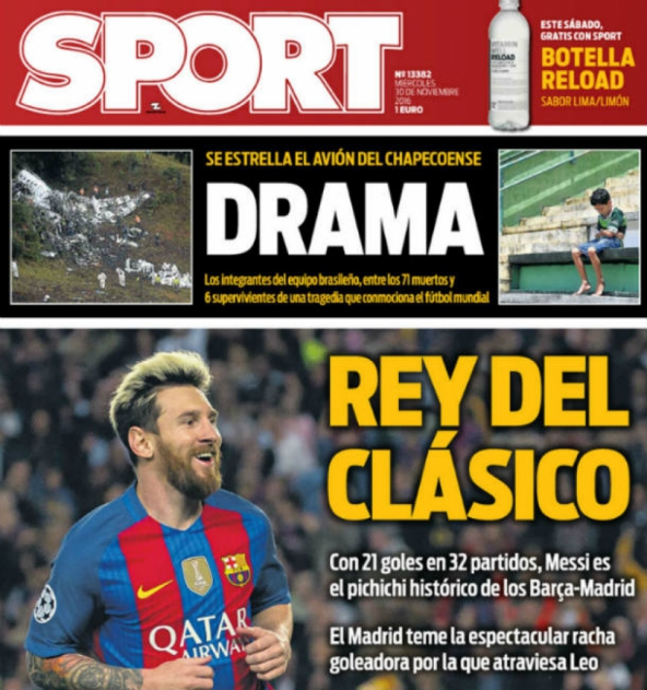 Sport (Spain) drama