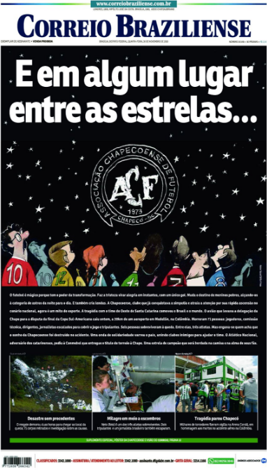 Correio Braziliense (Brasília, Brazil) Somewhere among the stars