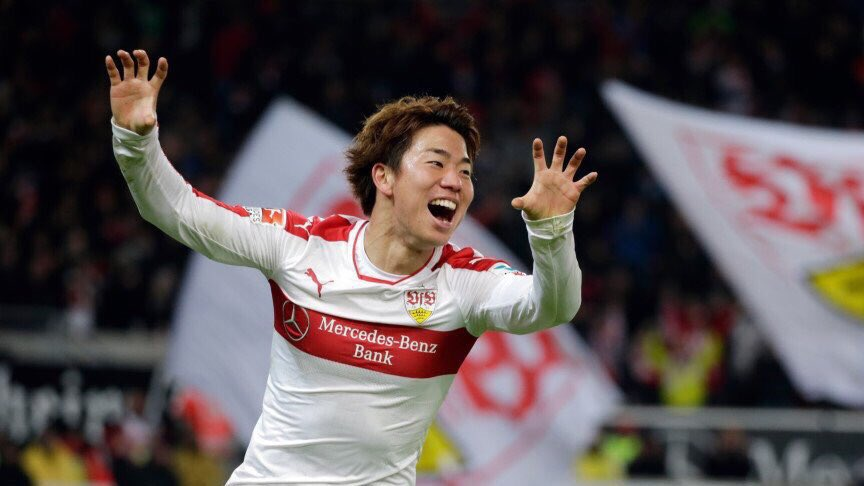 Takuma Asano scored, claimed an assist and covered 12_05km in Stuttgarts 3-1 win against Nuremberg