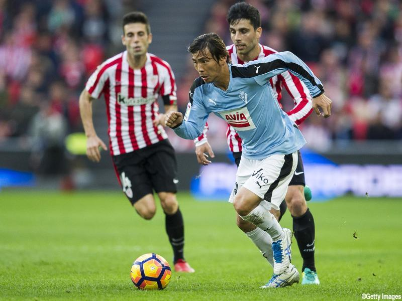 inui takashi assist against Athletic Club