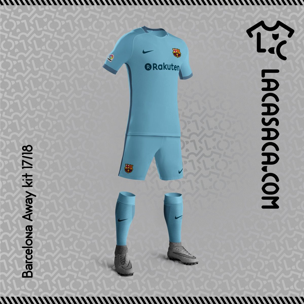 Barcelona Possible home, away and third kits of Barcelona for the 17_18 season 2