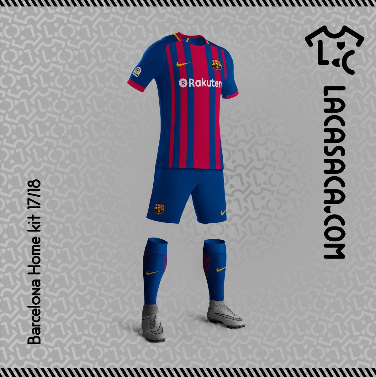 Barcelona Possible home, away and third kits of Barcelona for the 17_18 season