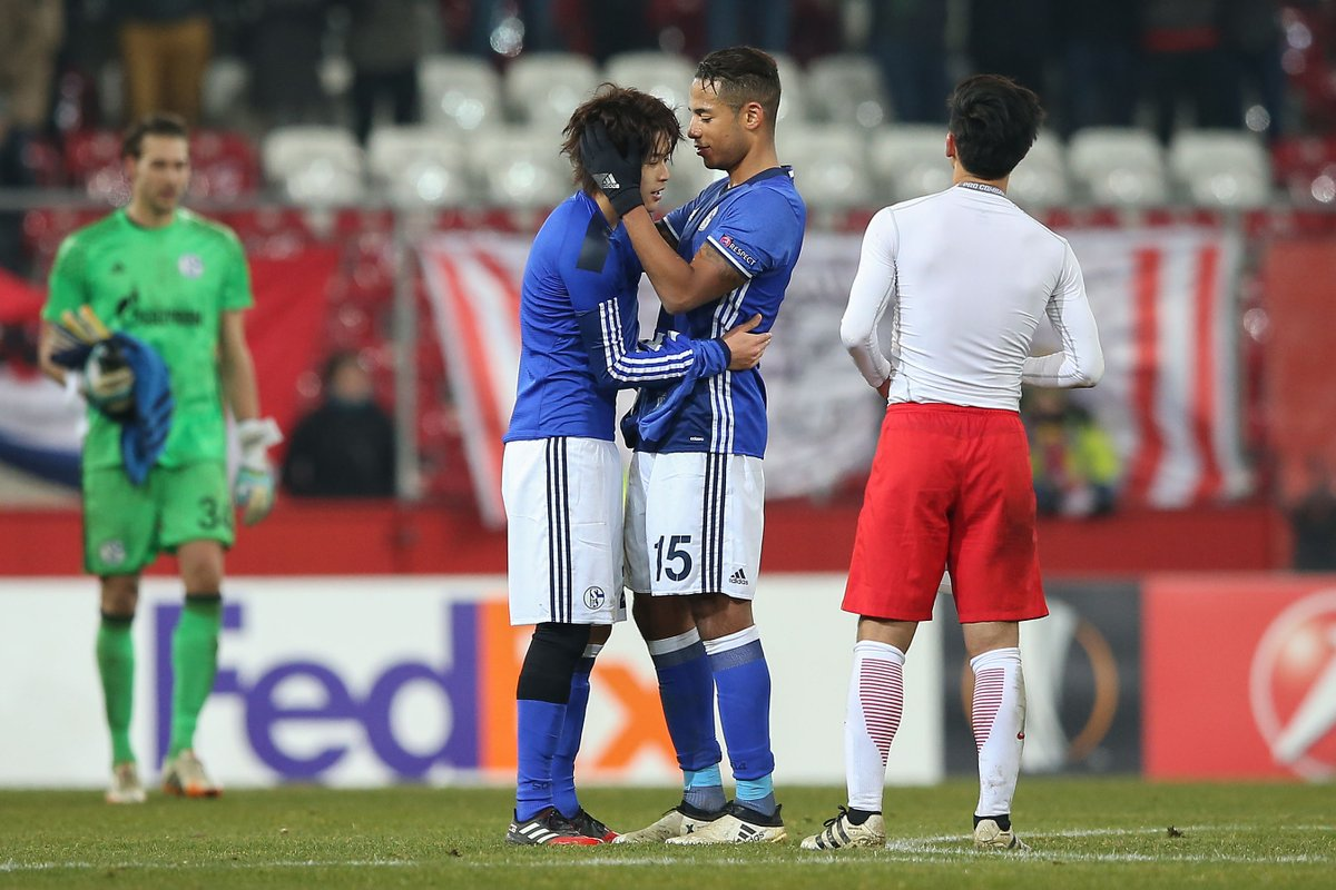 Id like to thank all the Schalke fans for their fantastic support Uchida reflects on his return