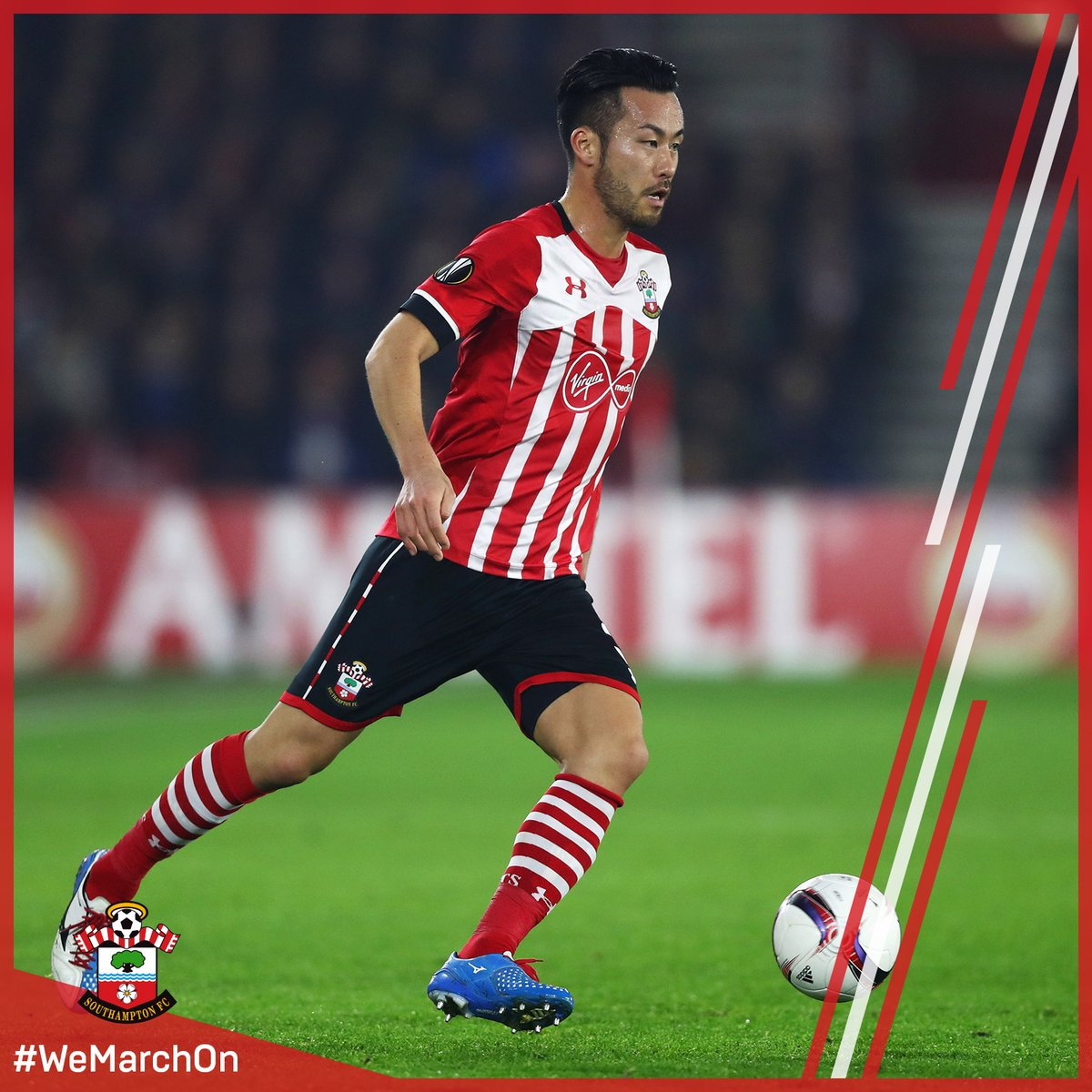 A terrific block from @MayaYoshida3 at one end, before @VirgilvDijk is denied at the other