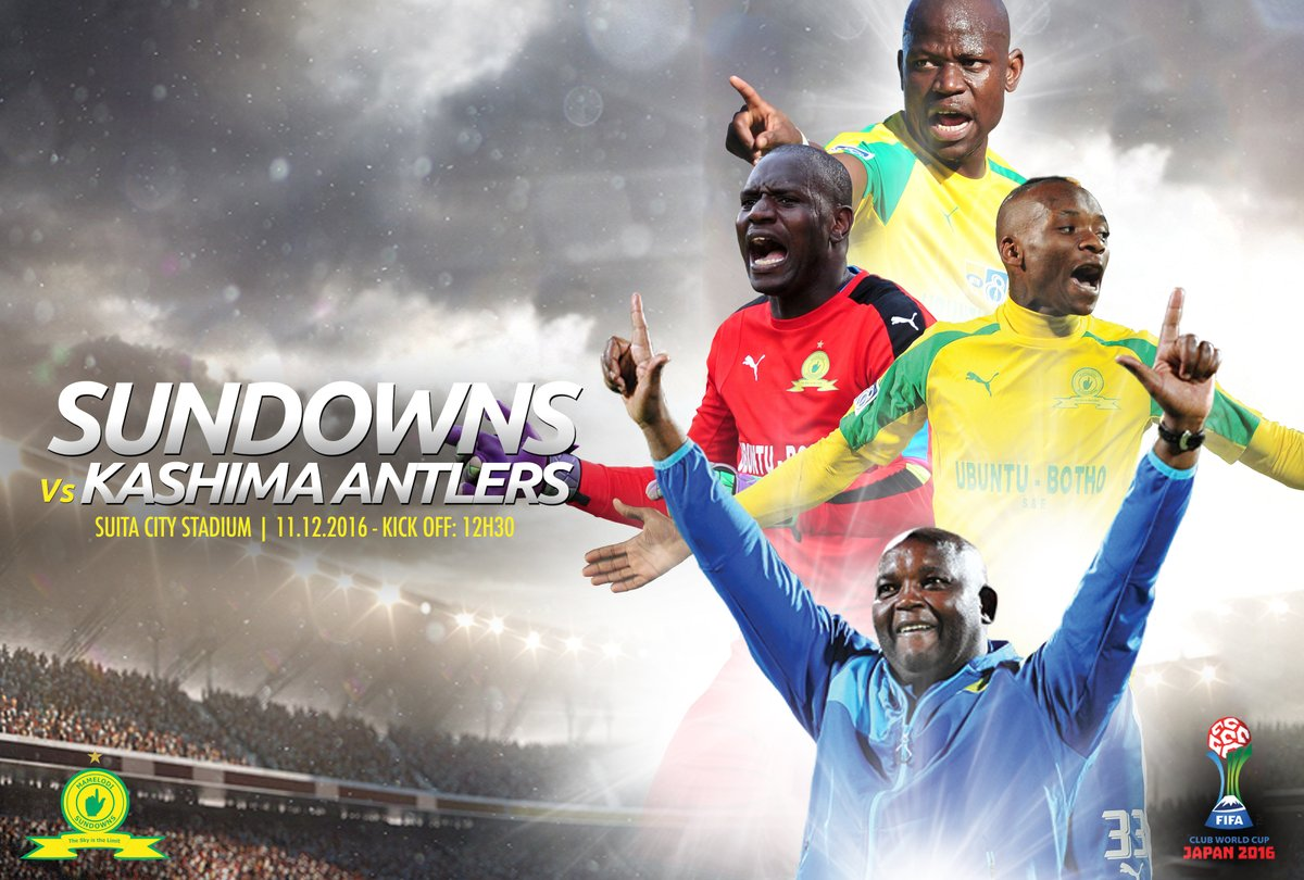 Its Matchday Masandawana, and its on the Worlds biggest stage! #Sundowns #ClubWC