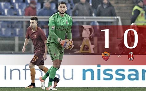 Full time_Fischio finale RomaMilan 1-0