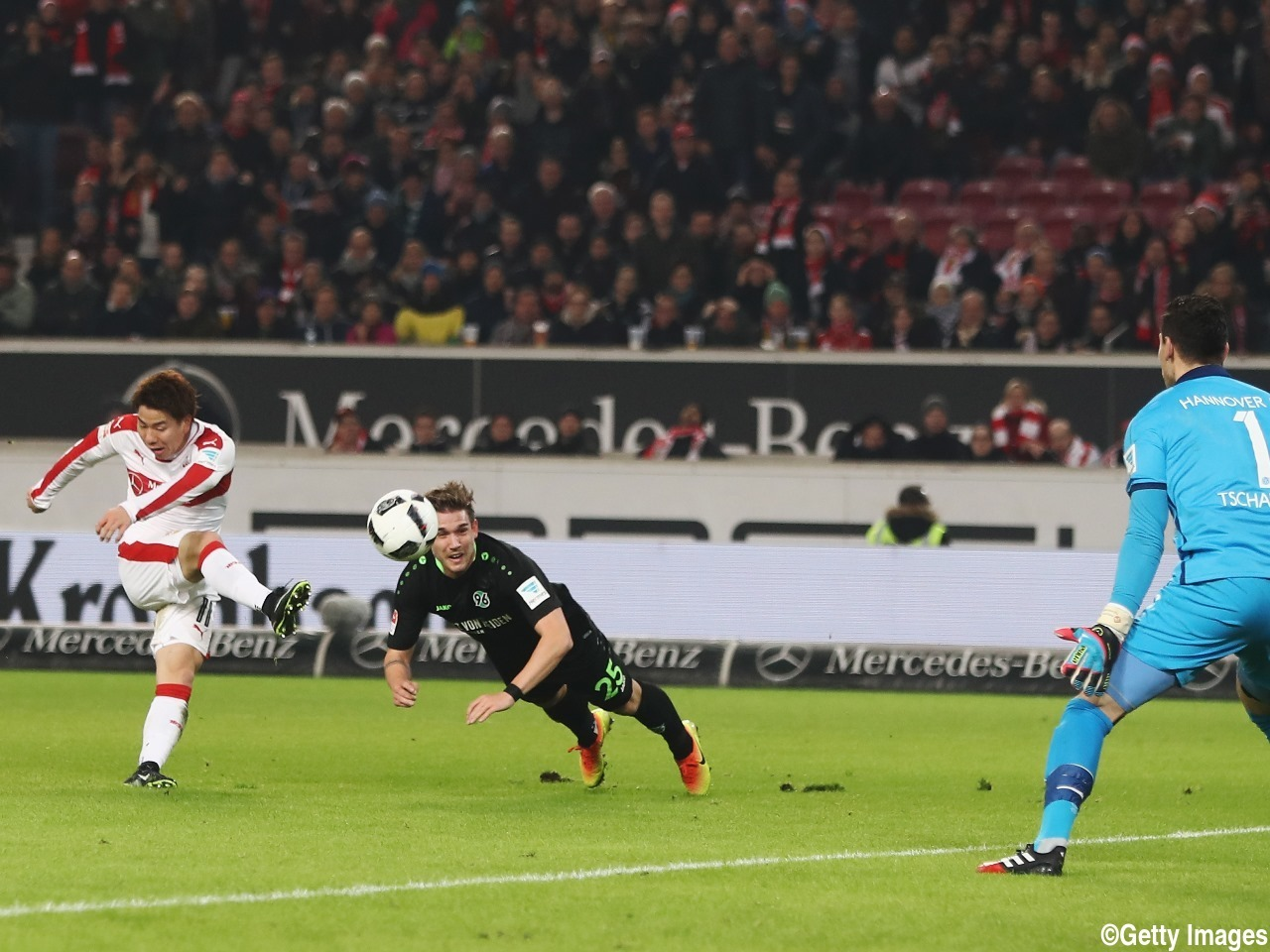 Arsenal loanee Takuma Asano three assists in row for Stuttgart