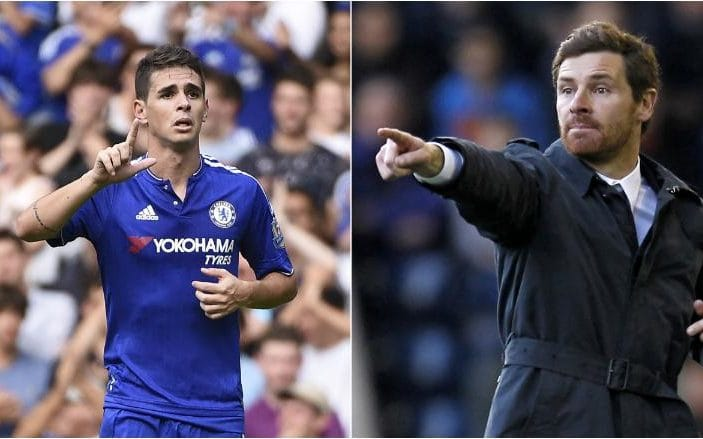 Andre Villas-Boas makes stunning £60m bid to bring Chelseas Oscar to China next month