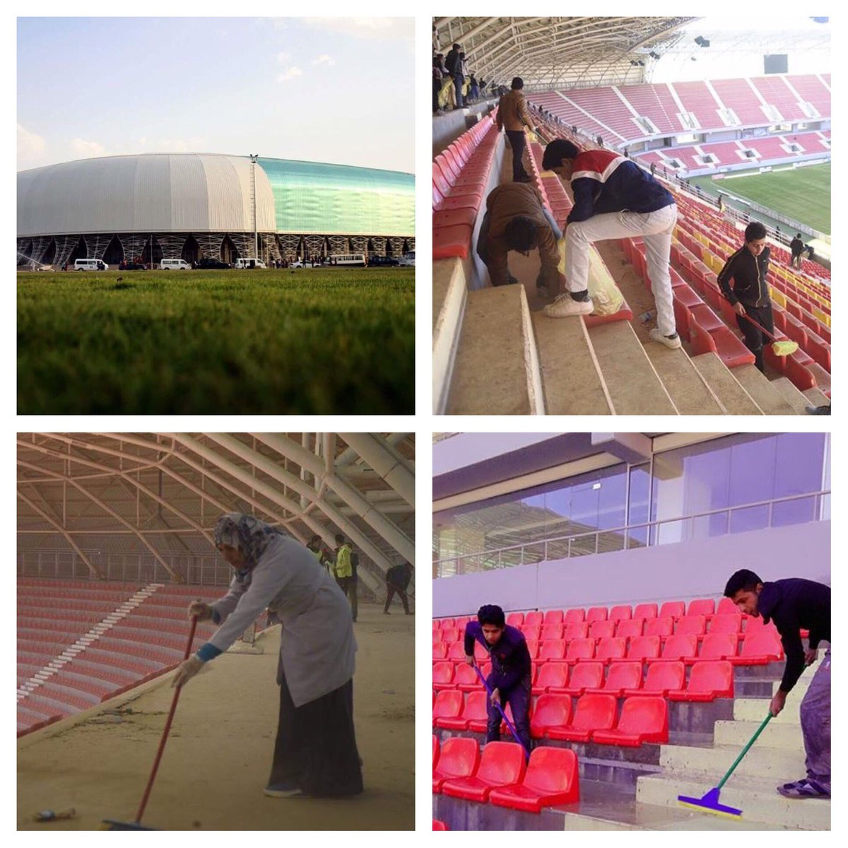 Iraq Basra #Karbala stadiums