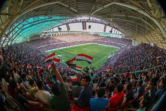 We, the Iraqi people, ask #FIFA to lift the ban on hosting international football matches in Iraqi stadiums