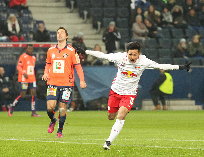 minamino GOAL Salzburg legt mit lockerem 3_0 gegen WAC