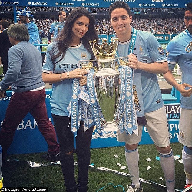 Nasri is said to be single after splitting up with model Anara Antanes