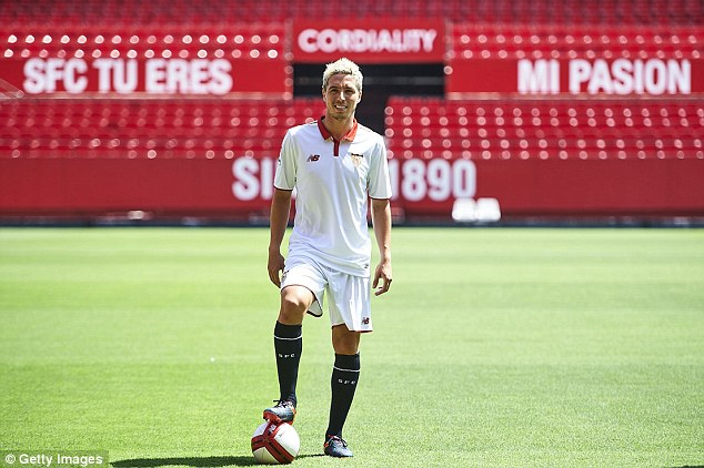 Samir Nasri is enjoying life in Spain having joined Sevilla on a season-loan deal in the summer