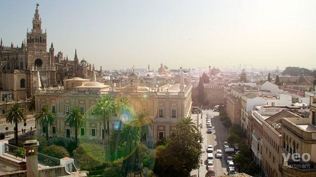 Seville Apartment - View of the historic centre