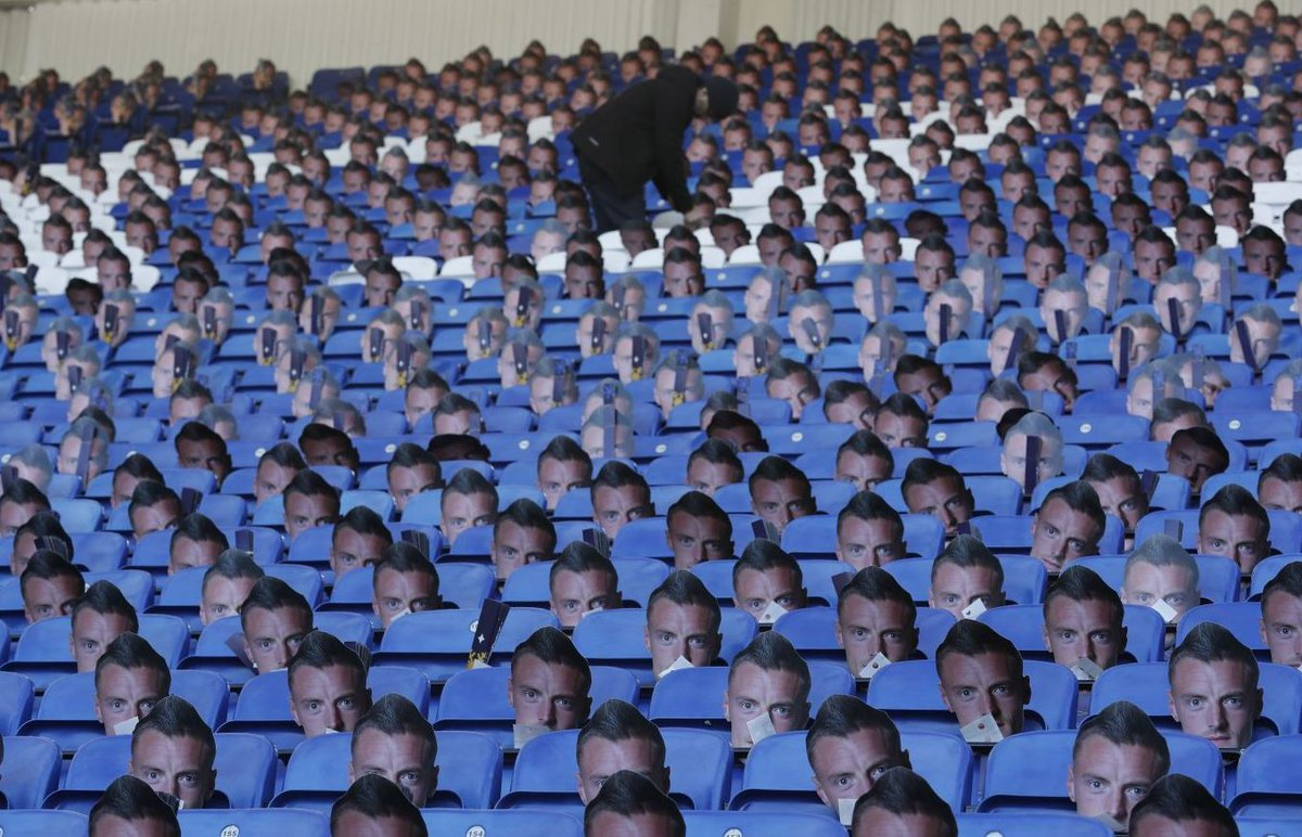 vardy mask on the seats