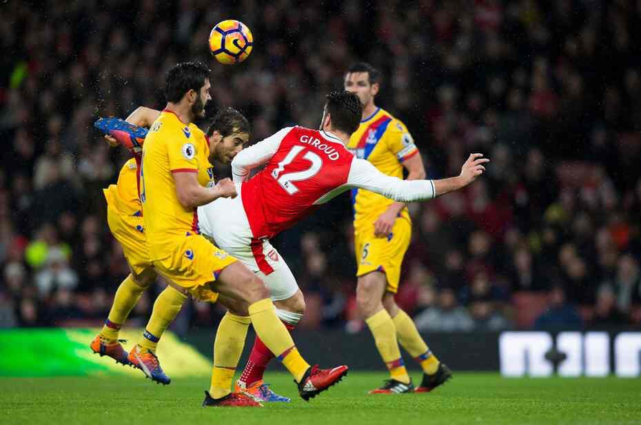 Best scorpion kick goal Olivier Giroud