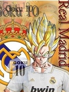 real madrid goku