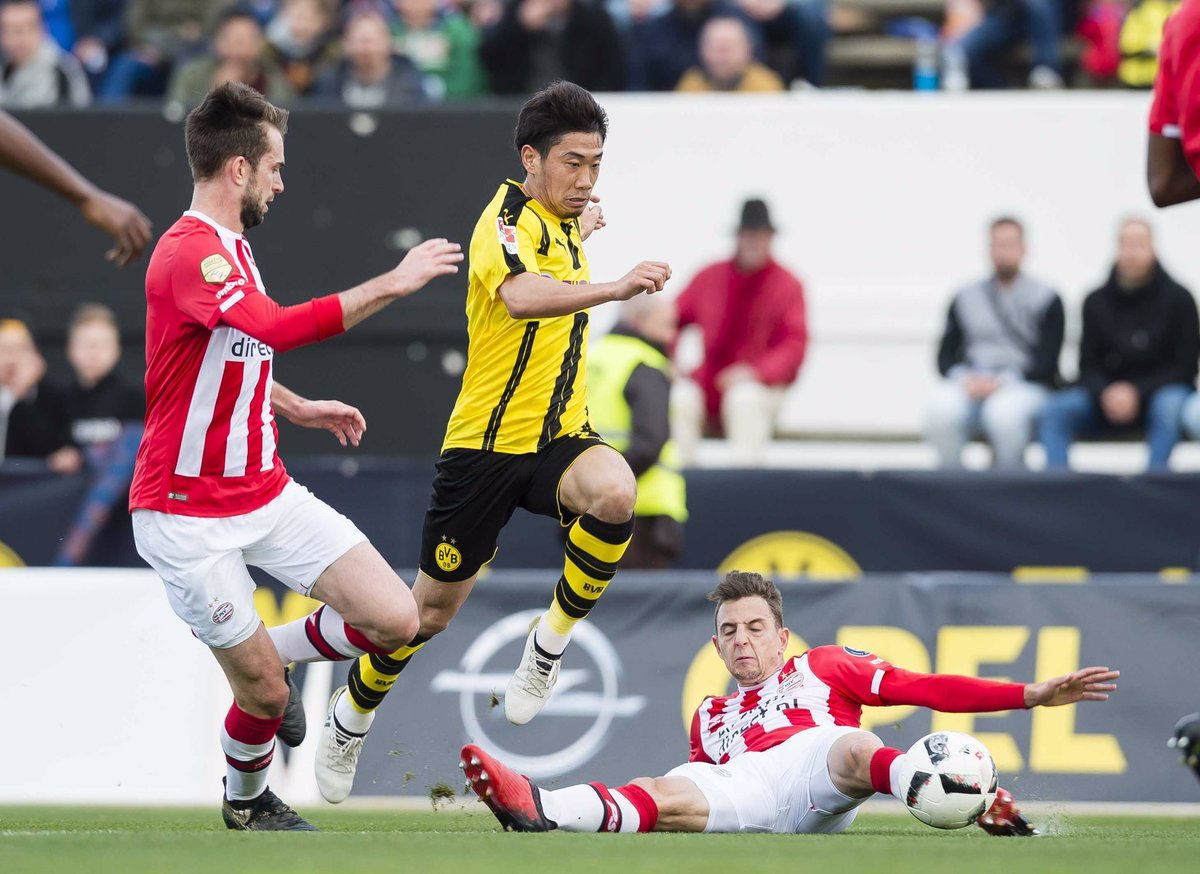 PSV 0-2 Borussia Dortmund ClubFriendly ⚽️ Reus ⚽️ Kagawa