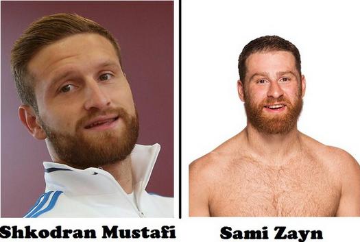 Shkodran Mustafi,Sami Zayn