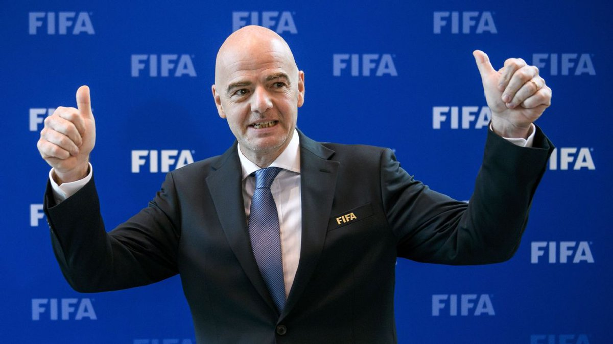 FIFA President Gianni Infantino hopes his ruling Council will agree to expand the 2026 World Cup to 48 nations