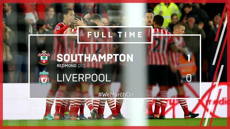 Southampton 1-0 Liverpool yoshida maya