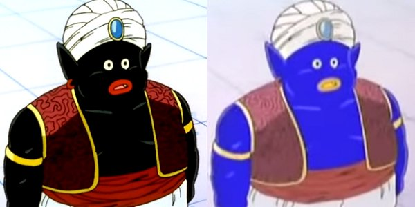 mr popo they colored him blue
