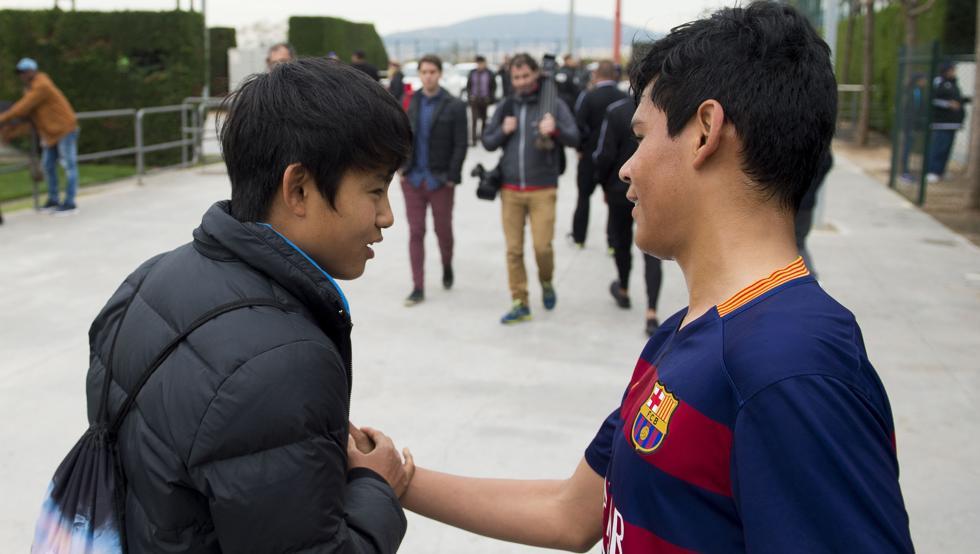 Take quiere volver al Barça