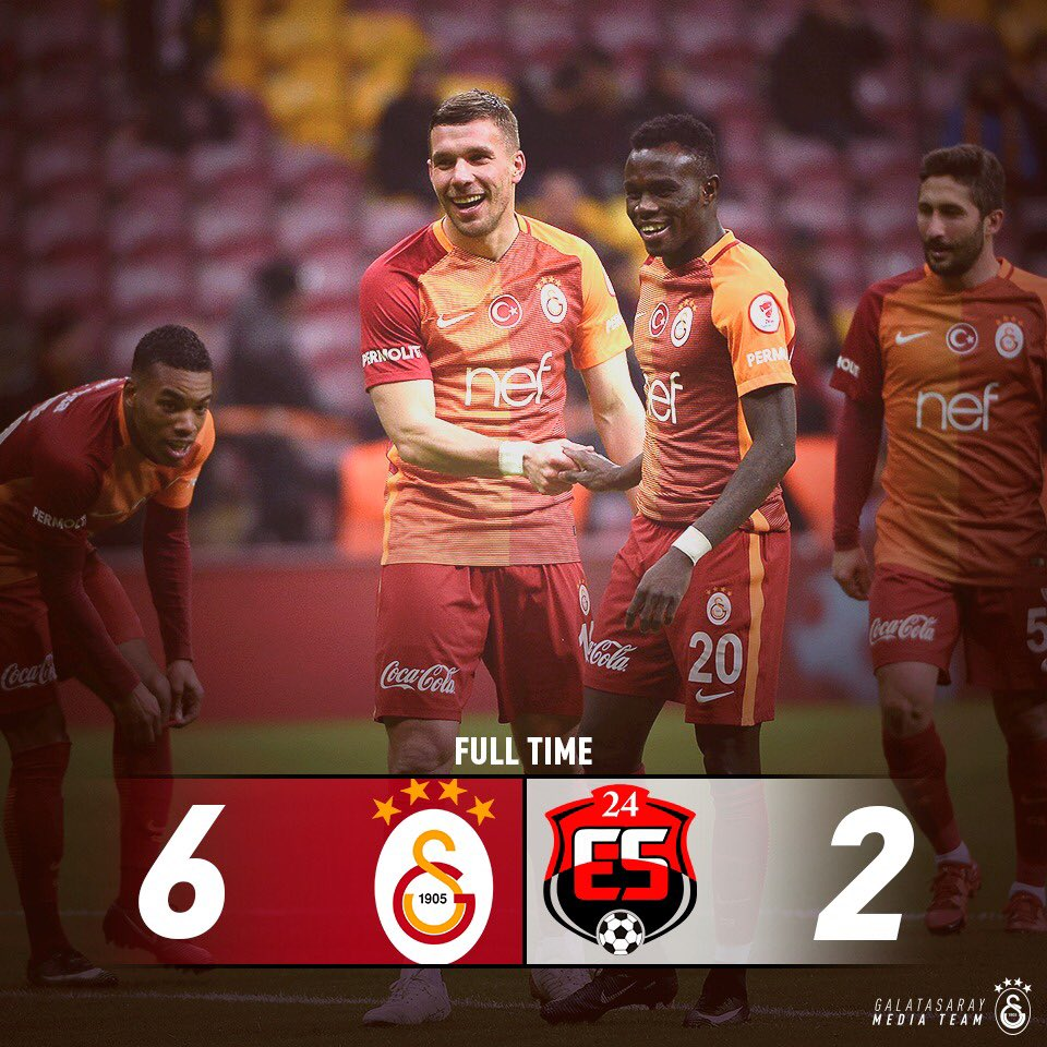 Galatasaray 6-2 Erzincanspor