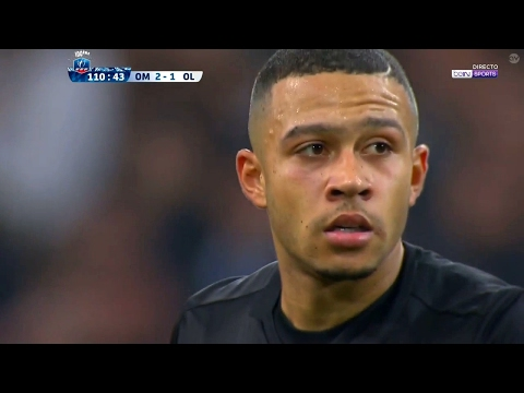 Memphis Depay vs Olympique Marseille (Away)