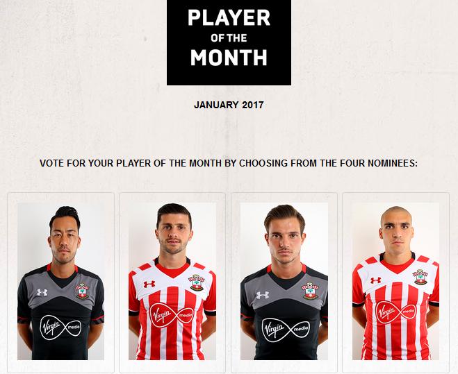 Southampton FC Player of the Month for January yoshida maya